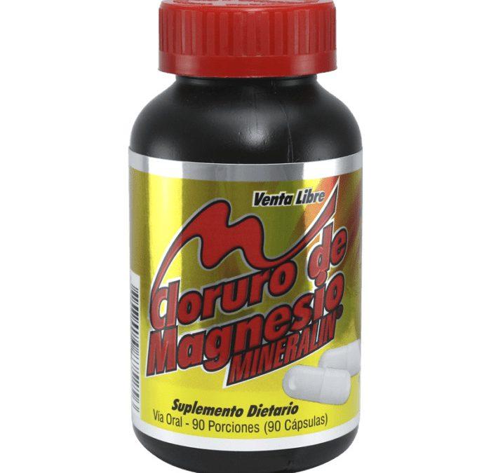 Cloruro de Magnesio Suplemento Dietario 60 Tabletas