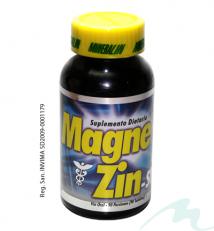 MAGNE ZINC-SD SUPLEMENTO DIETARIO (90 Tabletas)