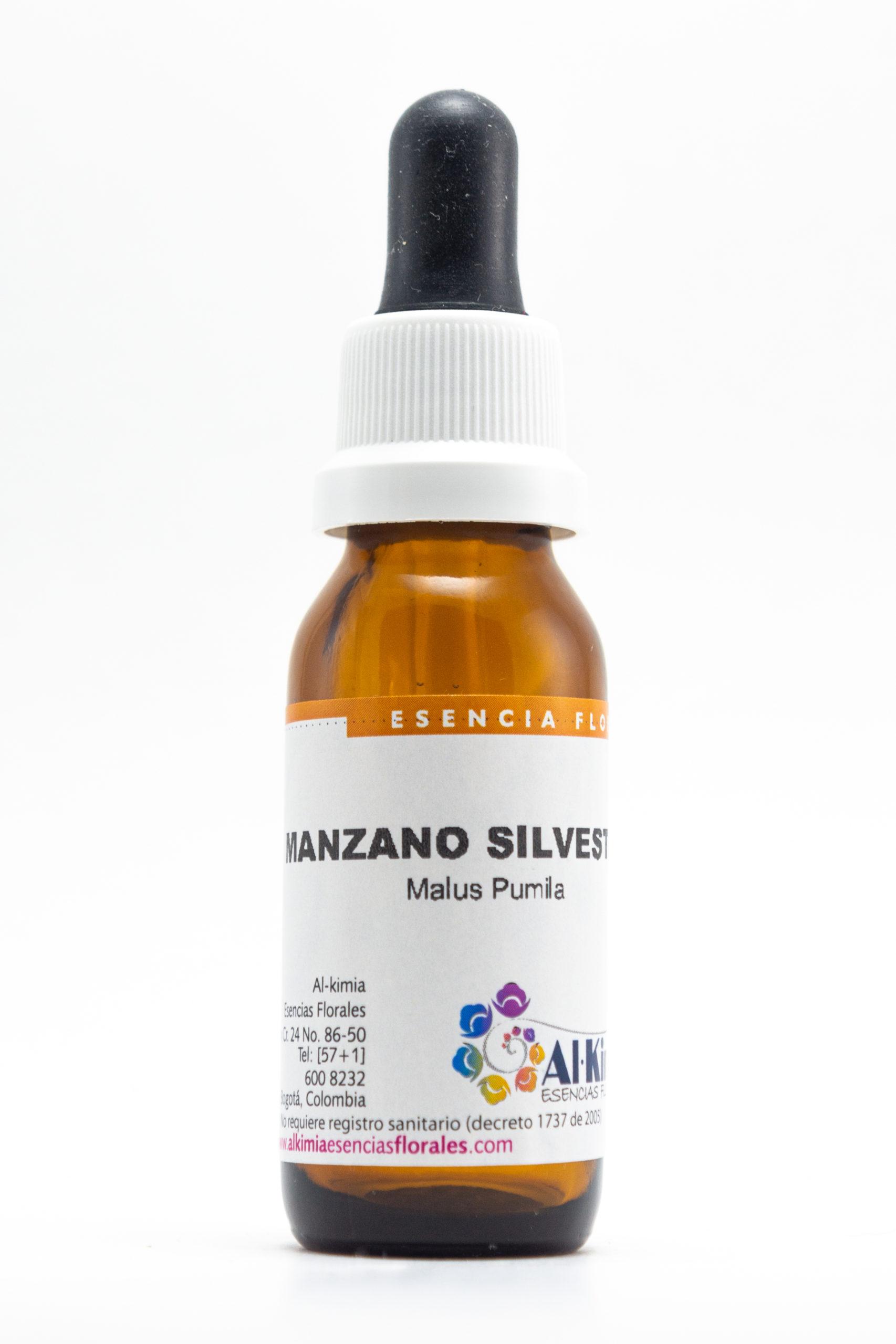 Manzano Silvestre Botella Stock